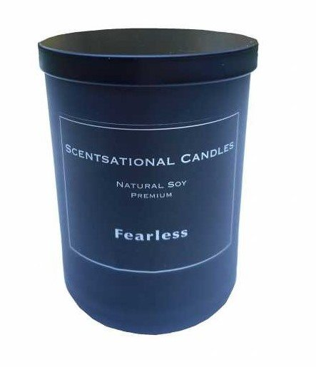 Scentsational Candles Fearless