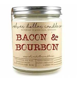 9 Ounce SOY Jar Candle BACON scented
