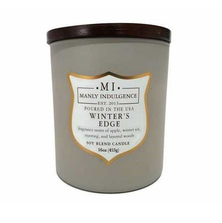 Manly Indulgence Candles Winter's Edge
